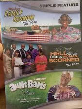Triple Feature Family Reunion, Hell Hath No Fury, Aunt Bam's New Sealed 2011