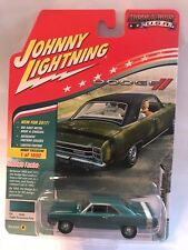 1:64 Johnny Lightning Muscle Cars USA 2017 - 1969 Dodge Dart Light Turquoise