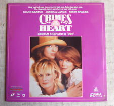 Crimes of the heart LASERDISC laservision NTSC made USA