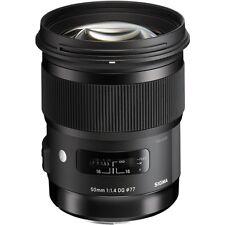 Sigma 50mm f/1.4 DG HSM Art Lens for Canon EF Digital Camera Bodies - NEW