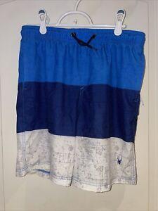 Spyder Boys Youth Swim Shorts & Rash Guard Too Size Large (14-16)