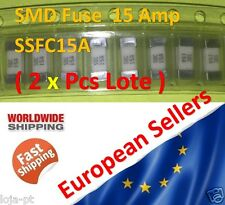 2x Unit - 15 Amp SMD Fuse SSFC15A Fast-Acting Fuse 1808 Marking 15A - Fast Ship