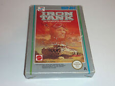 iron tank invasion of normandy nes game aus pal a cib nintendo mattel