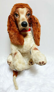 "Vintage Rare Rushton 1950 1960's 13"" Star Creation Beagle Plush Rubber Face Dog"