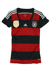 Adidas Alemania Mujer DFB JERSEY MAILLOT 2014 4 ESTRELLA TALLA S