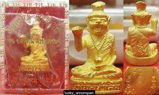 Mini Statue Phra LERSI Head Tiger LP KEE Thai Buddha Amulet lucky Rich NO.4