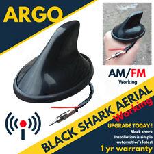 12 V noir aileron de requin antenne Aero voiture antenne radio GPS travail AM FM Mât Toit