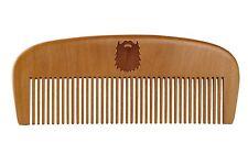 Bartkamm aus Birnbaumholz Beard Comb mit 5 Jahren Garantie
