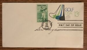 Ben Hogan Autographed First Day Cover