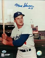 "Bill Moose Skowron Signed 8X10 Photo ""#14"" Autograph Dodgers Top Auto COA"