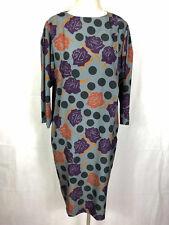 ELEGANTIA by LUISA SPAGNOLI VINTAGE '80 Abito Vestito Pois Woman Dress Sz.L - 46