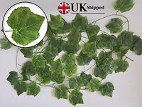 2.4m (8ft) Artificial English Grape Style Ivy Trailing Garland Vine wedding Fake
