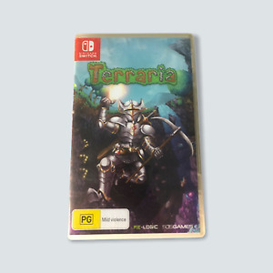Terraria for Nintendo Switch - VGC/Tested/Working/Free Post 🐙