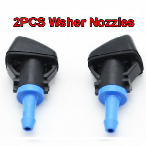 Front Washer Jet Nozzles For Jeep Patriot Compass 2009 2010 2011 2012 2013 2014