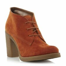 Dune High (3-4.5 in.) Block Heel Suede Boots for Women