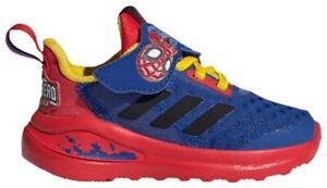Adidas x Marvel FortaRun Heroes Spiderman Infant Toddler Boy Sneaker Blue Shoe