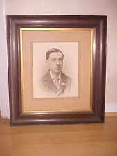 Vintage Wooden Frame with picture of man
