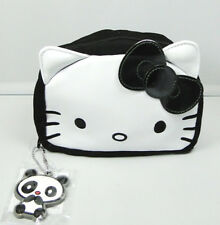 Pochette maquillage Hello Kitty noir et blanc