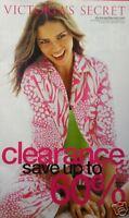 ADRIANA LIMA U5 Clearance  2006 Victoria's Secret Catalog