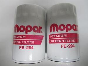MOPAR Multi-Application Oil Filter Pair (2) NORS FE204 PH3980