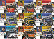 2002 Trackside LICENSE TO DRIVE DIE-CUT 36 card set BV$40! Scarce parallel set!!