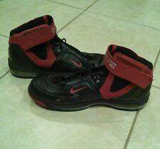 Vintage Nike Elite SZ 12.5 Air Max 2006 Lebron Kobe Jordan Black Red