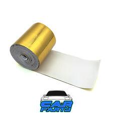 NASTRO TERMICO AUTO ADESIVO RACING ANTI CALORE ASPIRAZIONE 5 METRI 50mm GOLD