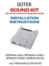 DISQUETTE sound Mod Kit pour Gotek disquette USB émulateur-Projet HXC F _ F Amiga pas de soudure