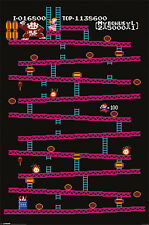 (LAMINATED) DONKY KONG POSTER (61x91cm)  PICTURE PRINT NEW ART