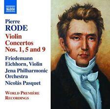 NEW - Pierre Rode: Violin Concertos Nos. 1, 5 & 9 by Friedemann Eichhorn
