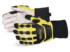 SUPERIOR Q18VSB/L 1/Pkg Clutch Gear Oilfield Anti-Vibration Gloves