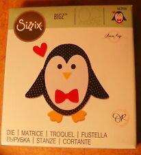 Sizzix Bigz Die Penguin Friends 664499 Reindeer Penguin Christmas Penguin