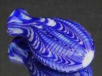 Schönes Schnupftabakglas - Bixl - Schnupftabakflasche mit Riffelstruktur Nr. 74