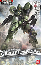Graze Standard & Commander Gundam Iron-Blood Orphans Scale 1/100 Model