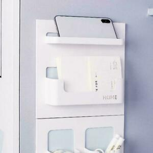 Easy Eco Life Bedside Shelf Accessories Organizer- Mount On Self US Stick E0X8