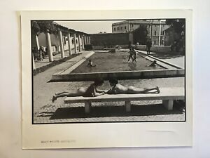 FREE SHIPPING!Vintage1980s photo PORTUGAL SWIMMING POOL by Gilberto Prioste