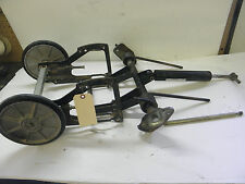 79 80 Kawasaki Drifter Snowmobile 440 Front Suspension Swing Rear Axle #850