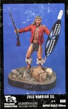 Verlinden Productions 120mm 1:16 Zulu Warrior ISL Resin Figure Kit #686