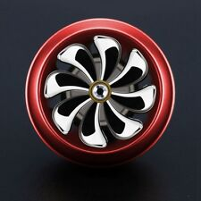 Auto Car Truck Dash Turbo Air Vent Freshener Perfume Zinc Alloy Wine-Red Durable