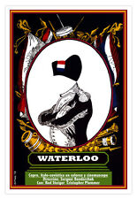 "Decor  Graphic Design movie Poster 4 film""NAPOLEON.Waterloo""French art history."