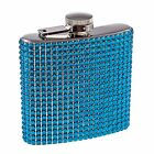Diamond Bling Jewel Rhinestone 6oz Drinking FLASK for Bachelorette Party Gift
