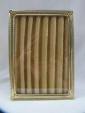 Vintage Picture Frame Gold Metal Ornate 5 x 7