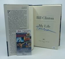 President Bill Clinton Signed My Life Book Autographed Auto Jsa Coa