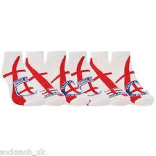 6 Paquets de paire de chaussettes de l'équipe nationale d'Angleterre.