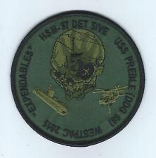 "HSM-37 DET 5 ""EXPENDABLES"" WESTPAC 2015 subdued patch"