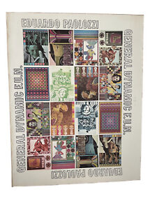 Poster by Paolozzi for General Dynamic F.U.N.