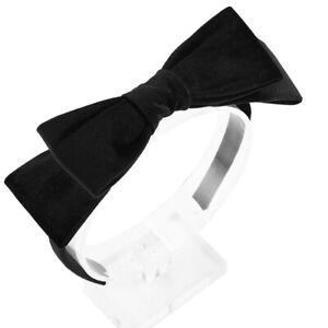 Women's Velvet Hairband Headband Big Double Bow Hair Hoop Girls Hair Accessories