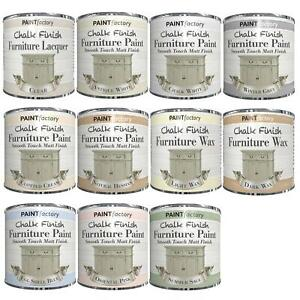 Chalk Finish - Furniture Paint Wax Lacquer Smooth Touch Matt Finish DIY