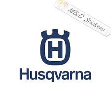 "Husqvarna Logo Decal Sticker 11/"" 16/"" 23/"" Motorcycle Chainsaw Trimmer Enduro Saw"