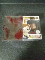 Funko Pop Harrison's Exclusive The Walking Dead Bloody Daryl Dixon Box Damage